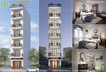 Thiết kế khách sạn 2 sao đẹp, sang trọng và cuốn hút tại Hà Nội