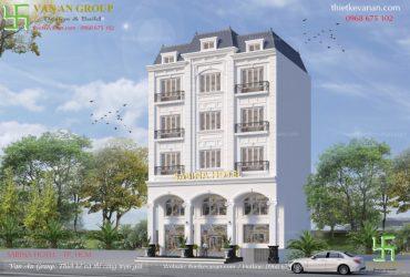 Thiết kế khách sạn mini 5 tầng đẹp sang trọng, cuốn hút