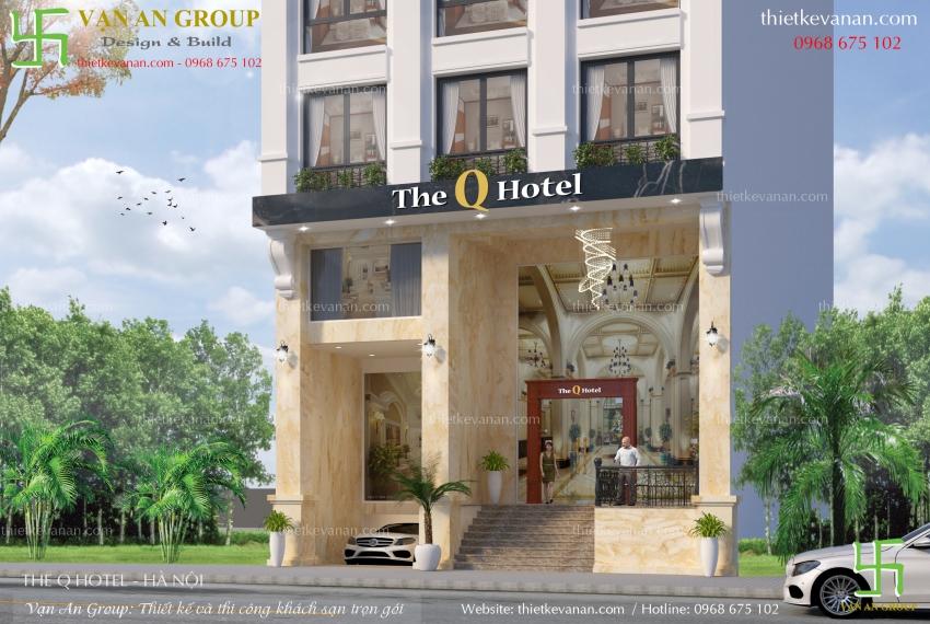 thiết kế khách sạn tại hà nội
