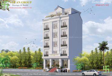 Thiết kế thi công khách sạn 2 sao trọn gói, chuyên nghiệp