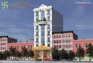 Thiết kế khách sạn 7 tầng đẹp sang trọng và cuốn hút mọi du khách