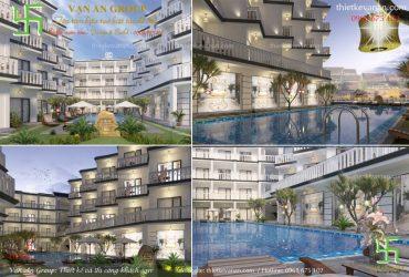 Thiết kế resort 4 sao đẹp mê mẩn, tiện nghi, sang trọng và đẳng cấp