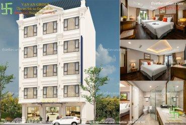 Thiết kế khách sạn 2 sao tại Thanh Hóa kiến trúc Châu Âu