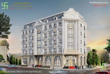 Thiết kế khách sạn 3 sao tại Vũng Tàu