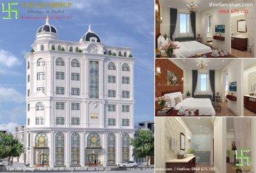 Thiết kế khách sạn mini 6×20 đẹp sang trọng và cuốn hút