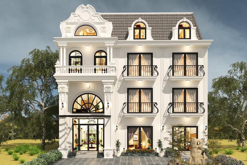 thiết kế villa nghỉ dưỡng đẹp