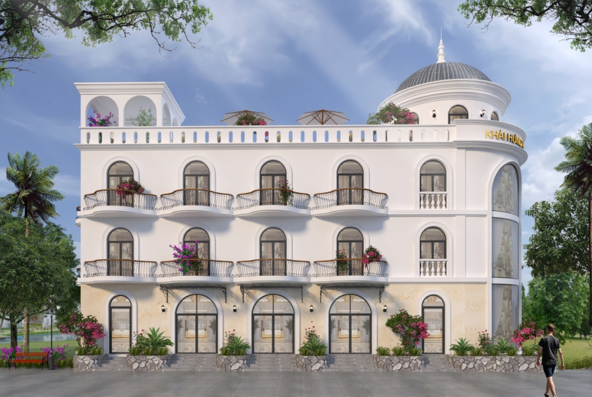 thiết kế villa nghỉ dưỡng